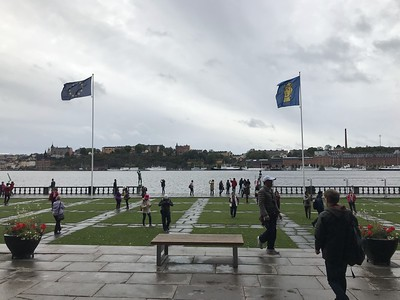 Stockholm City Hall - on tour with Gionni