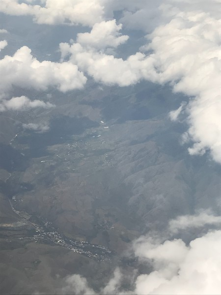 first views of Colombia from the air