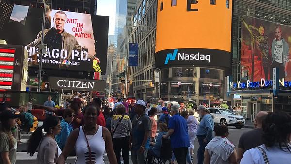 Times Square area