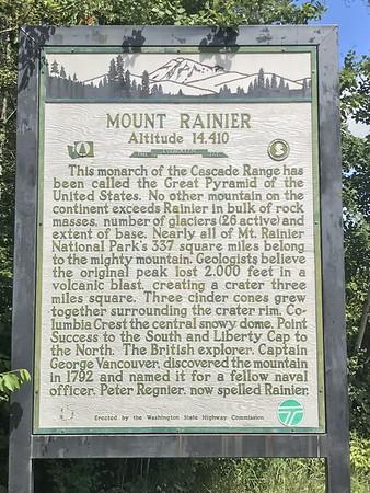 Mt. Rainier day