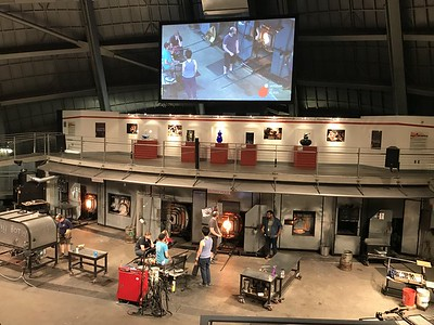 """Tacoma Museum of Glass """"Hot Shop"""""""