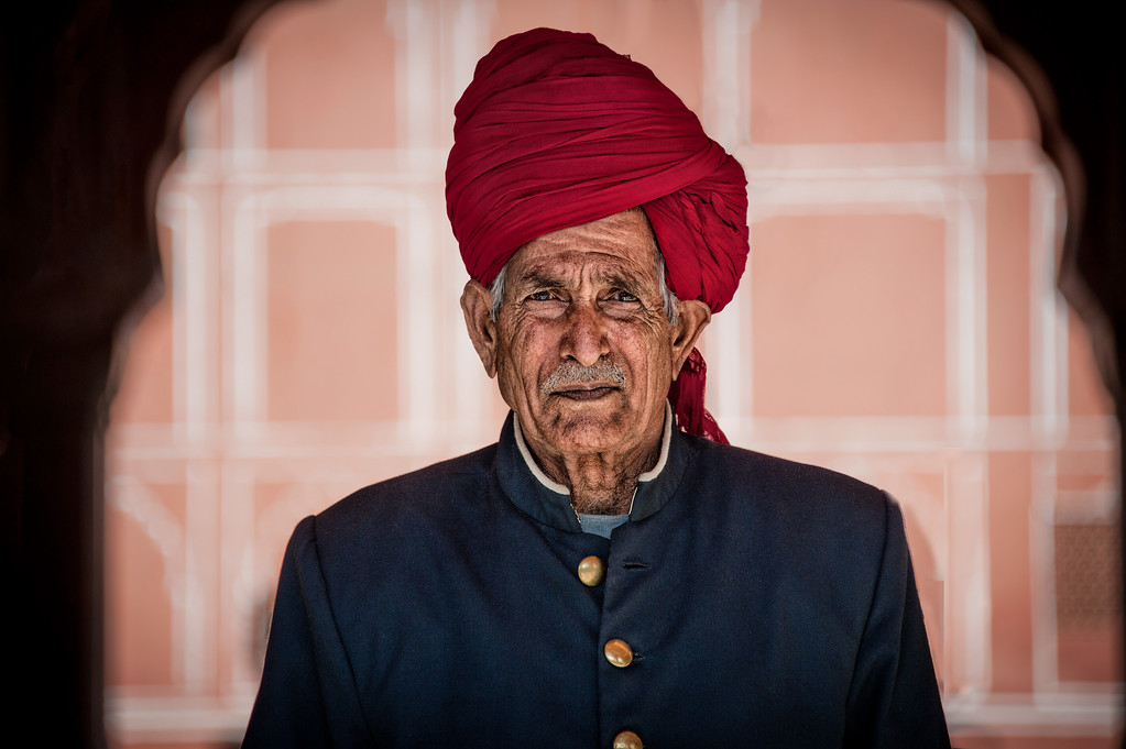 The wonderful character of a local gentlemen in Jaipur, India