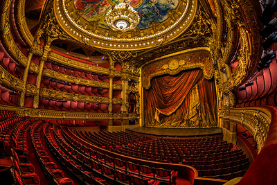 The Palais Garnier Opera House, Paris, France