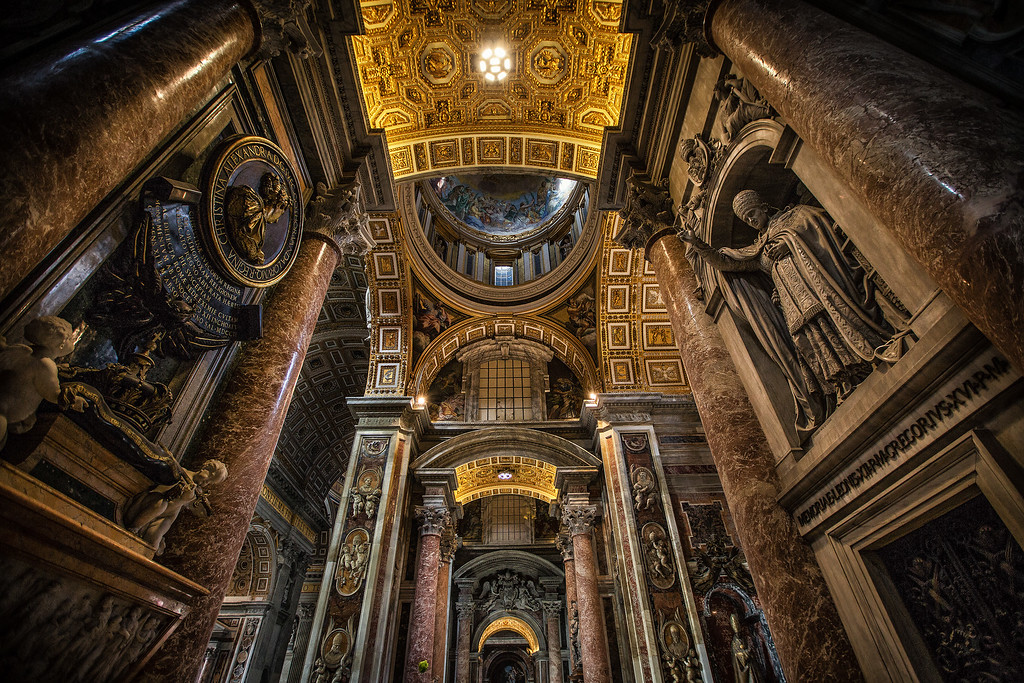 The Papal Basilica of St. Peter in the Vatican, Vatican City, Italy