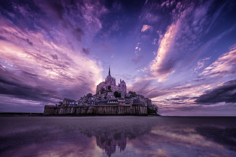 Mont St. Michele, France