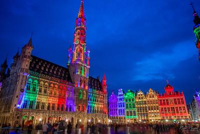 Bruges, Ghent, & a Brussels full of pride