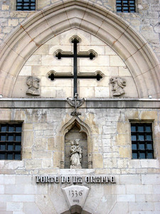 Croix de Lorraine (Porte de la Craffe)