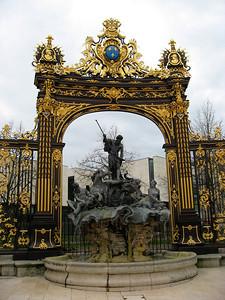 Fontaine autour de la place Stanislas