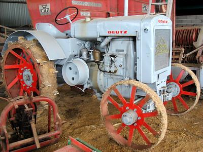 Ferme St Louis: collection tracteurs