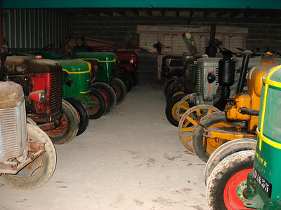 My brother Didier has about 60 old tractors (mainly Deutz)