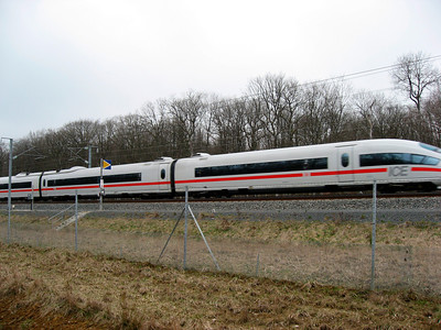 New TGV (this one is going to Germany): March 2008