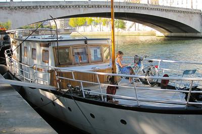 Au travail sur la Seine