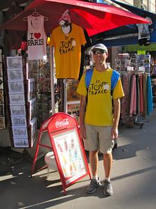 Touriste a Paris