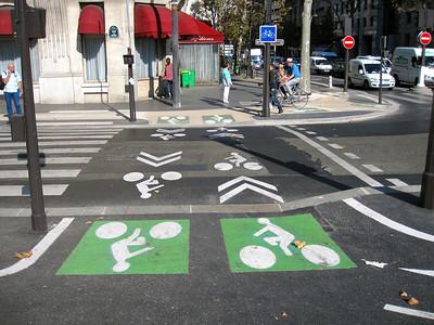 piste cyclable a Paris