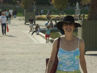 Eileen (Jardin du Luxembourg) photo prise par Roland