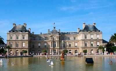 Palais du Luxembourg (Le Senat): Aug 2005