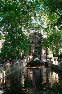 Fontaine de Medicis, a baroque fountain designed in 1624 (in Jardin du Luxembourg)