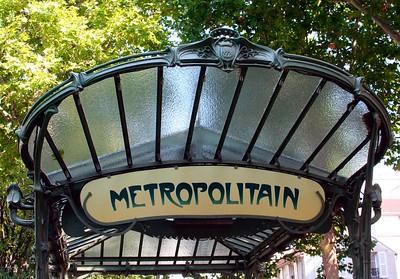 Entree du Metro