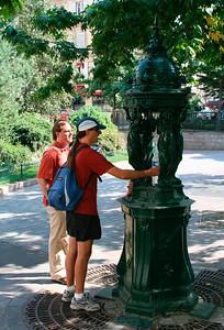 Il fait chaud: Kurth & Dave ont soif.