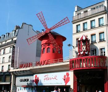 Moulin Rouge  http://en.wikipedia.org/wiki/Moulin_Rouge