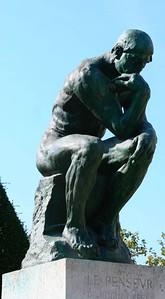 Musee Rodin: le Penseur
