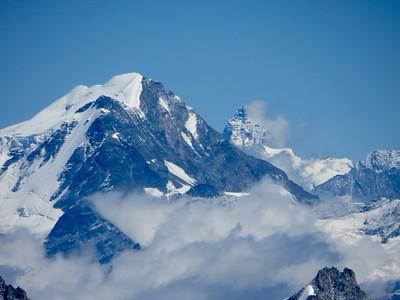 Grand Combin & Cervin (Matterhorn)