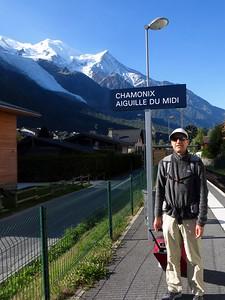 Overnight train (Paris- Chamonix): it's fun to wake up surrounded by beautiful mountains.