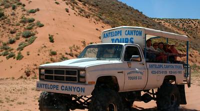 For more information on Antelope Canyon: http://www.navajonationparks.org/antelopecanyon.htm