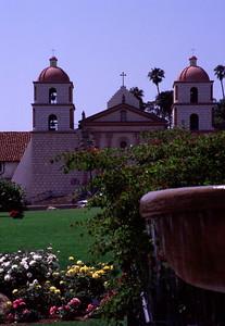 Famous Santa Barbara mission