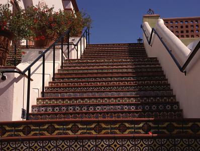 Stairs in Santa Barbara