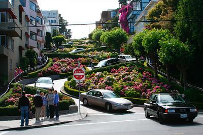 Busy Lombard Street