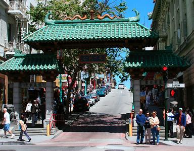 China Town Gate