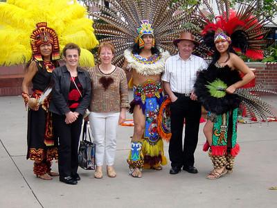 Aztec Indians in LA