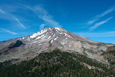 View of Mt Shasta from Gray Summit
