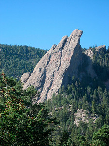 View of the Third Flatiron (a favorite for rockclimbers)  http://www.mountainweb.com/rock-climbing/view-rock-climbing.jsp?rockclimbing=1130