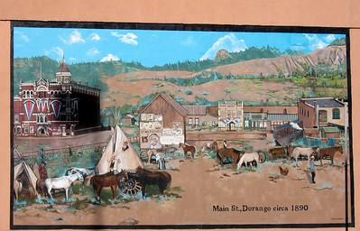 Mural in Durango