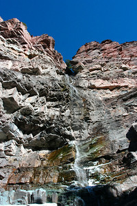 Pretty waterfall in Ouray