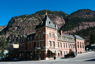 Ouray, a mountain gem known as the Switzerland of America.