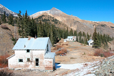 The Idarado Mine was a gold mining operation in the San Juan Mountains of Colorado.  http://en.wikipedia.org/wiki/Idarado_Mine