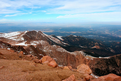 Climbing to Pikes Peak (Nov 2007)