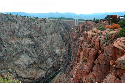 Royal Gorge Bridge http://en.wikipedia.org/wiki/Royal_Gorge_Bridge