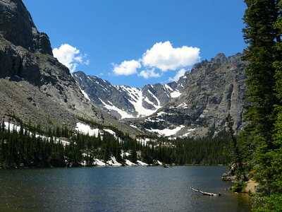Camping & hiking in Rocky Mountain National Park (July 2014)