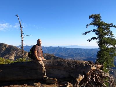 Scott enjoying the vistas