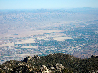 Looking down on Palm Spring (Nov 2007)
