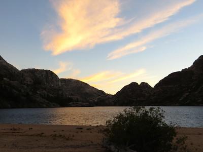 Sunset at Benson Lake