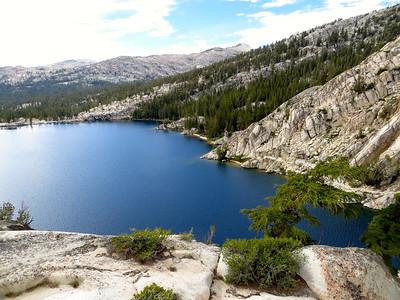 View on Peeler Lake (9,489ft)