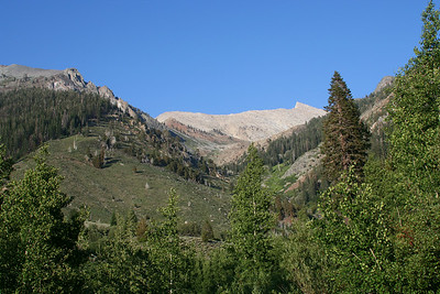 View of Sawtooth Peak