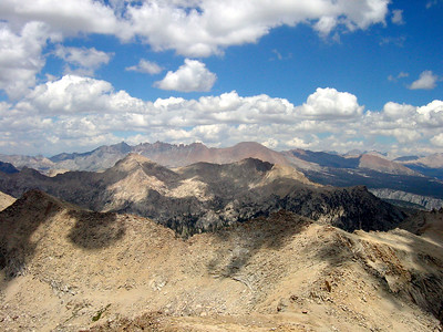 View from Florence Peak (12,405 feet, 3,781 m)  http://en.wikipedia.org/wiki/Sierra_Nevada_(U.S.)