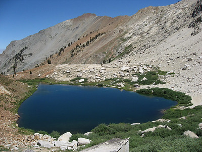 Monarch Lake (lower one)