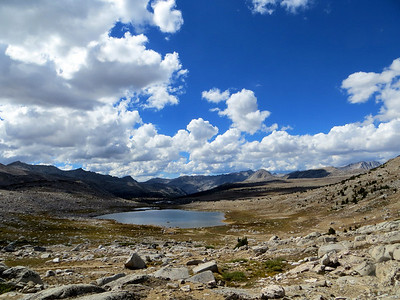 View from Piute Pass